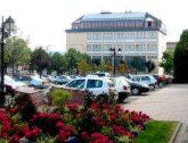 le bâtiment central